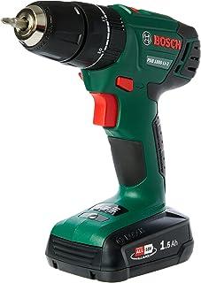 Bosch Home and Garden 06039A3376 PSB 1800 LI-2 (1x 1.5Ah) Cordless Hammer Drill, Green