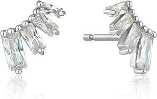 Glow Bar Stud Earrings