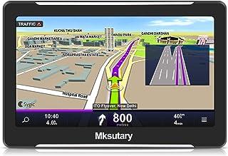 """Mksutary GPS de Coche, Navigation Pantalla 7"""" Navegador"""