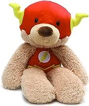 "GUND DC Comics Universe Fuzzy Flash Plush Stuffed Animal, 14"""
