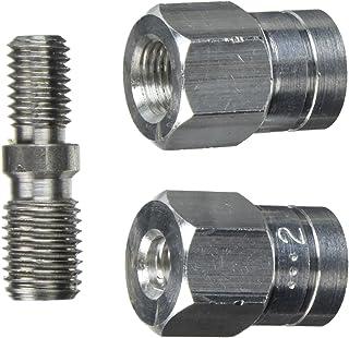 DOLMAR 381224230 381224230-Adaptador para Utilizar con 3812242408x1.25 10x1.00 lhf, 0 V, Negro