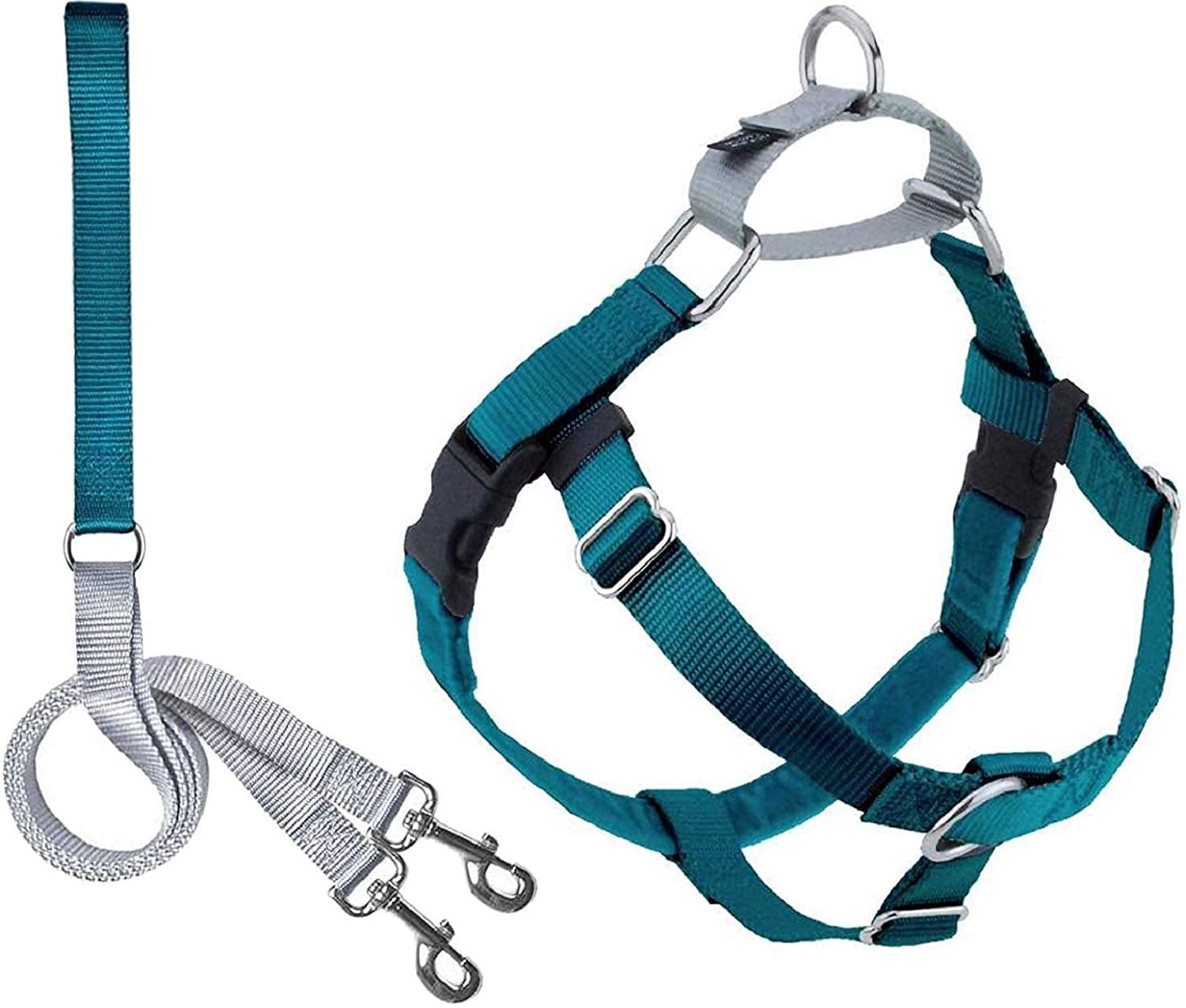 2 Hounds Design overseas Cheap SALE Start Freedom No Harness Dog Adjustable Gentle Pull