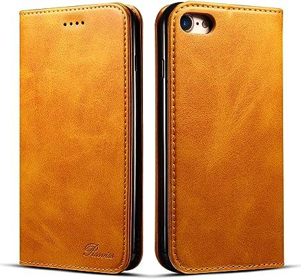1df121d137 iPhone 7 ケース 手帳型 iphone8 ケース 手帳 Rssviss 耐衝撃 耐摩擦 高級PUレザー 財布型 アイフォン 8 ケース レザー  カバー カード収納 マグネット スタンド機能 ...