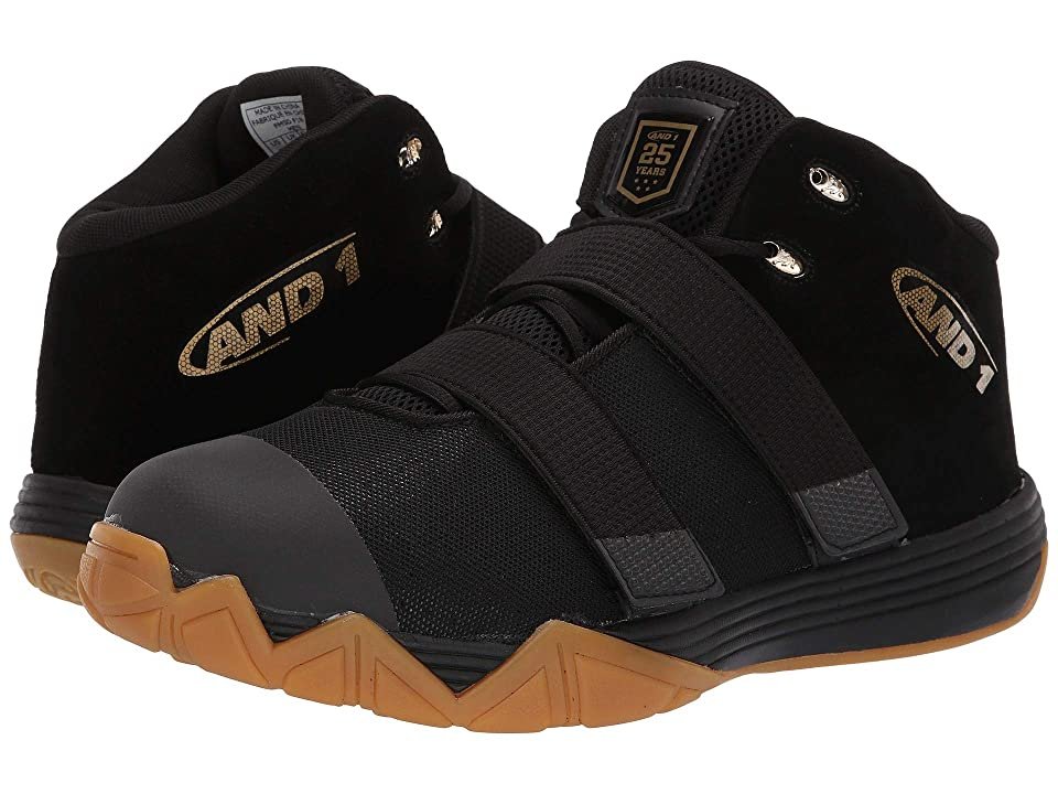 AND1 Chosen One II (Black/Metallic Gold/Gum) Men