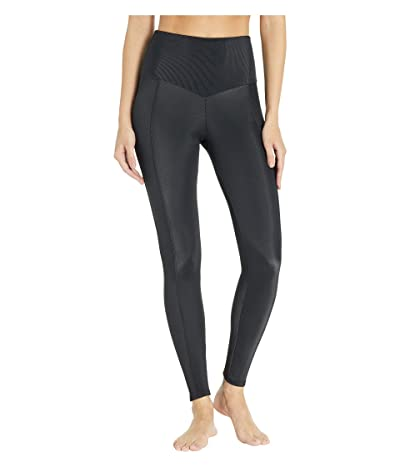Onzie Sweetheart Midi Leggings (Black) Women