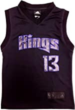 adidas Tyeke Evans Sacramento Kings NBA Jersey Revolution 30 (Youth Small Size 8)
