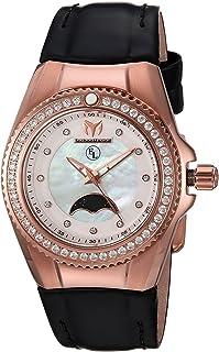 [テクノマリーン]TechnoMarine 腕時計 'Eva Longoria' Quartz Gold and Leather Casual Watch, TM-416021 レディース [並行輸入品]