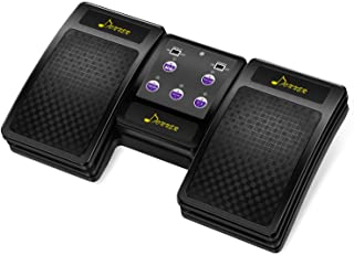 Donner Wireless Page Turner Pedal for Tablets Ipad Rechargeable,Black