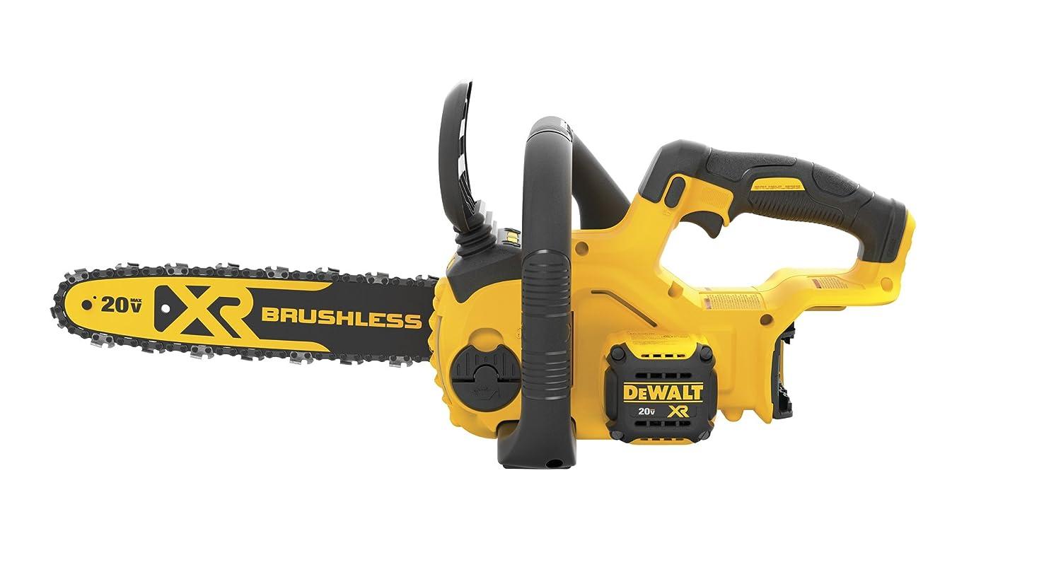 ビデオ気を散らす顔料DEWALT DCCS620B 20V MAX XR Compact 12 in. Cordless Chainsaw (Tool Only) 141[並行輸入]