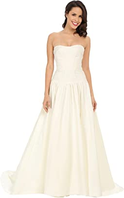 Nicole Miller Laurel Silk Faille Bridal Gown