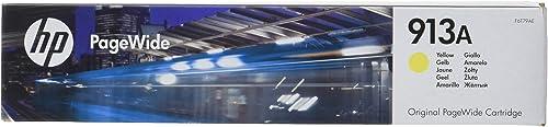 HP 913A F6T79AE cartouche d'encre Authentique, imprimantes HP PageWide, Jaune