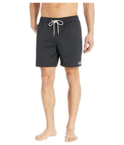 RVCA Opposites Elastic Shorts (Black) Men