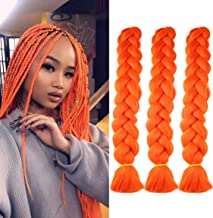 Amazon Com Orange Braiding Hair