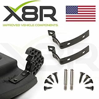X8R Repair Kit for Glove Box Lid Hinge Snapped Fix Z Shape Brackets Applicable to Audi A4 S4 RS4 B6 B7 8E 8E2857035 X8R0065