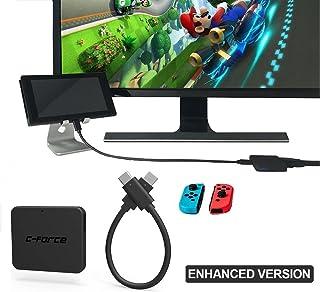 C-Force CF003 USB 3.1 HDMI 多機能アダプタ入力出力任天堂スイッチ、MacBook Pro は、Google のピクセル、マルチポートアダプタの接続ハブを充電