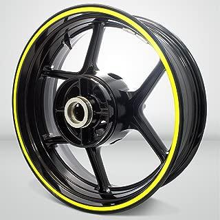 Thick Outer Rim Liner Stripe for Suzuki Bandit 1200 Matte Yellow