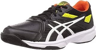 ASICS Unisex Kid's Black/White Tennis Shoes-2 UK (35 EU) (3 US) (1044A007)