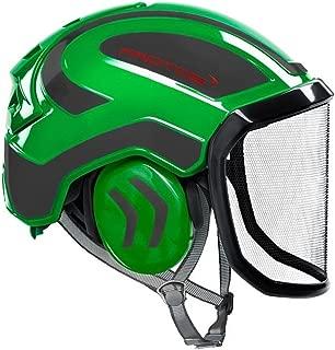 Protos Integral Arborist Helmet - Green & Grey