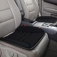 LYOOLY Universal Non-slip Memory Foam Car Seat Cushion Cover Pad Mat for Auto SUV & Office Chair Cushion (Black)