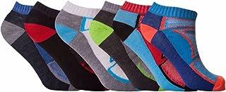 12 Pair Mens Multi Coloured Breathable Trainer Qulaity Trainer Liner Ankle Socks UK Size 6-11
