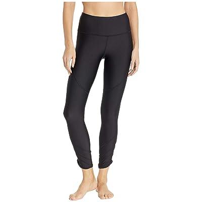 Under Armour UA HeatGear Fashion Ankle Crop (Black/Metallic Silver) Women