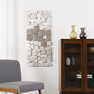 Holly & Martin Wavson Wall Sculpture - Geometric 3D Design - Unique Mounting Wall Art