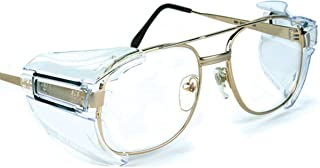 B52 Clear Safety Glasses Side Shields for Medium to Large Glasses (Pack of 20)