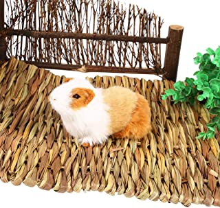 Tappetino in Tessuto a Criceto Tappetino in Tessuto, Cuccia per Coniglietto di Animali Piccoli Nest Chew Toy Bed Gioco Gio...