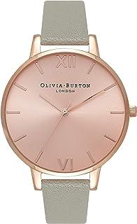 Olivia Burton Womens Quartz Watch, Analog Display and Leather Strap OB16BD98