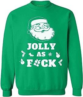 Awkward Styles Jolly As Fuck Christmas Sweatshirt Jolly Ugly Christmas Sweater