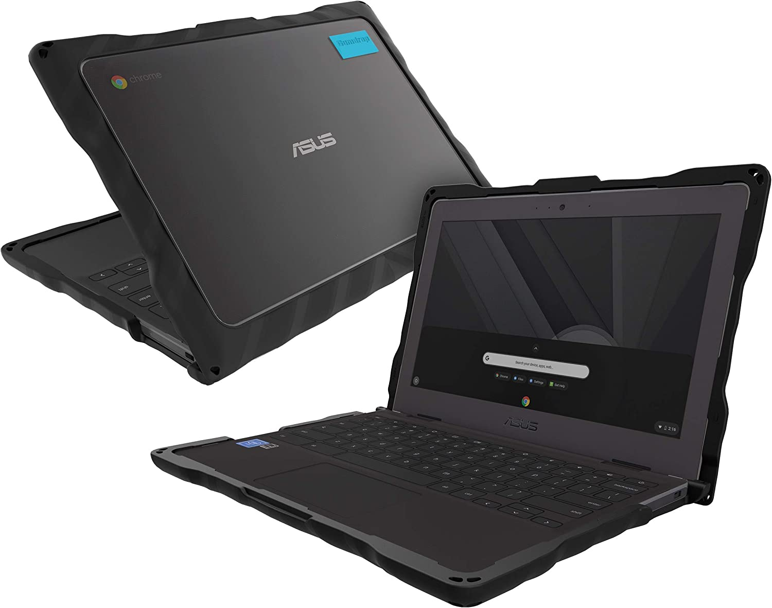 Long-awaited Gumdrop DropTech Case Designed for C204 Max 53% OFF ASUS Chromebook EE Lapto