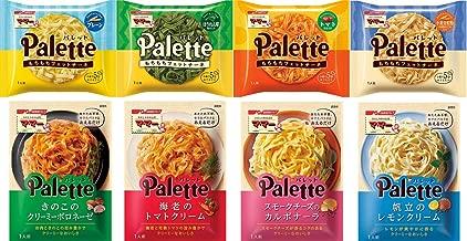 【Amazon.co.jp限定】 マ・マーPalette フェットチーネパスタ(4種)・あえるだけパスタソース4種 詰め合わせセット