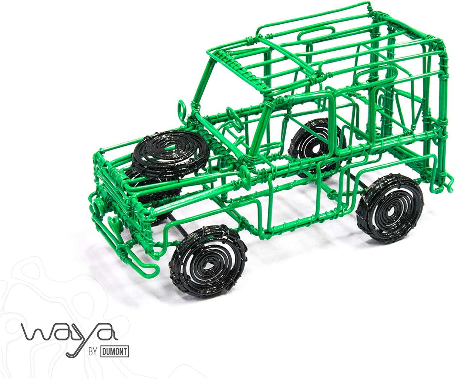 Waya For Africa Mojo Hand Crafted Recycled Wire Landy Made in Kenya.