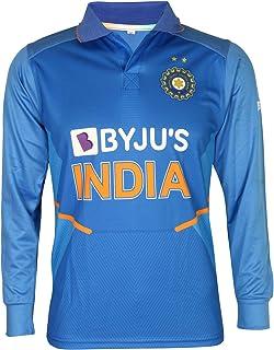 KD Cricket India Jersey Full Sleeve New BYJU's Team Uniform 2020-21