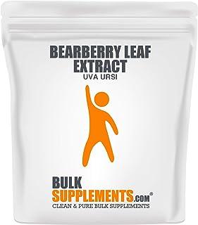 Bulksupplements Bearberry Leaf Extract (Uva Ursi) Powder (100 Grams)