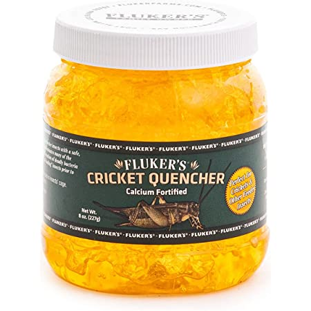 Cricket Quencher Calcium Fortified, Pack of 1 (8-Ounce)