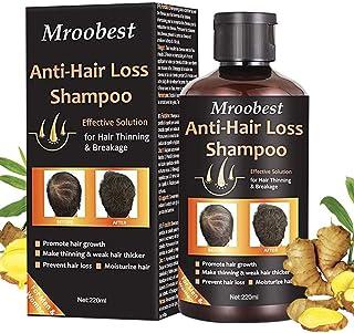 Champú Champú antipérdida de cabello ayuda a detener la pérdida de cabello crecimiento rápido del cabello tratamiento ...