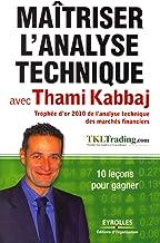 Livres Maîtriser l'analyse technique avec Thami Kabbaj: 10 leçons pour gagner. PDF