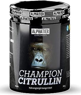 L-CITRULLIN Malaatpoeder 500g - fitness en bodybuilding - hoogste dosering & zuiverheid - ALPHATIER CHAMPION L-Citrulline ...