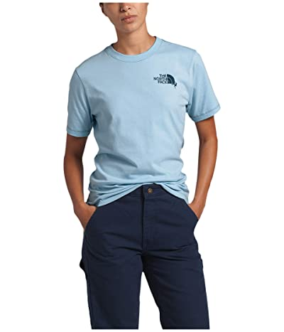 The North Face Dome Climb Short Sleeve Tee (Angel Falls Blue/Blue Wing Teal) Women