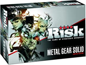 RISK Metal Gear Solid Limited Edition Individually Numbered Board Game
