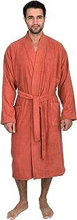 orange bathrobe