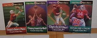 Touchdown Pass, Championship Ball, Clutch Hitter, & A Pass and a Prayer by Coach Clair Bee (4 Books) (Chip Hilton Sports Series)