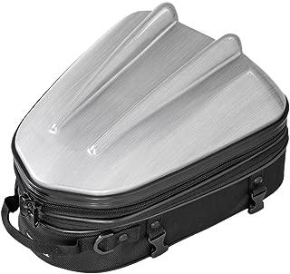 タナックス MOTOFIZZ シェル シートバッグ MT/ヘアラインシルバー (容量10-14ℓ) MFK-239