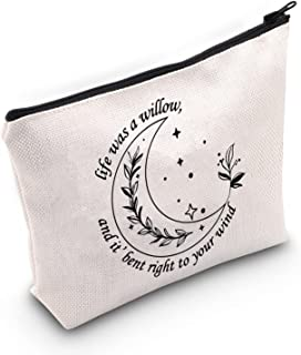TOBGBE Taylor Gifts willow Makeup Bag Swifties Gifts Evermore Album Inspired Makeup Bag, Willow Bag