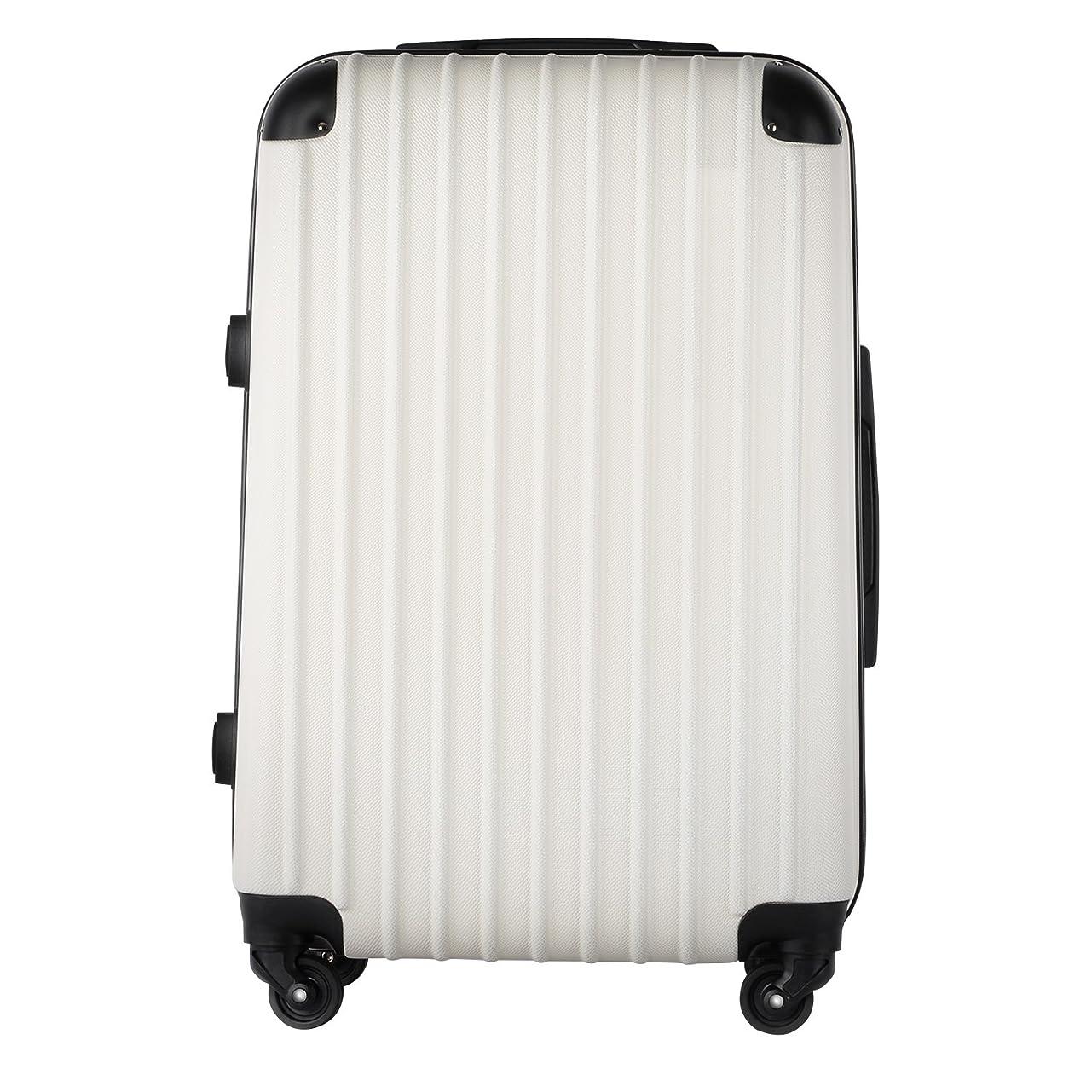 スーパーチャットハンディ【レセナ】RESENA スーツケース 超軽量 キャリーケース ファスナー ABS 静音キャスター おしゃれ かわいい 旅行 出張