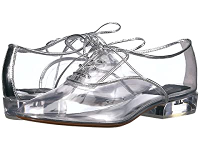 Marc Jacobs Oxford w/ Plexiglass Heel (Clear) Women