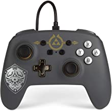 PowerA Enhanced Wired Controller for Nintendo Switch - Hylian Shield, Gamepad, Wired Video Game Controller, Gaming Control...