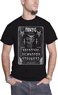Danzig T Shirt Ouija Board Band Logo 新しい 公式 メンズ