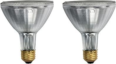 Philips 419747 EcoVantage PAR30 Long Neck 39 Watt (50 Watt Equivalent) 25 Degree Halogen Flood Light Bulb (2 Pack)